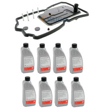 NEW W203 W211 W209 CLS500 E550 Transmission Filter and Fluid Kit Vaico / Febi