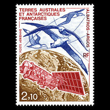 "TAAF 1991 -  Wandering Albatrosses and ""Argos"" Satellite Birds - Sc C114 MNH"