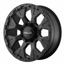"Helo 18x9 HE878 Wheel Satin Black 5x5 / 5x127 PCD -12mm Offset 4.53""BS"