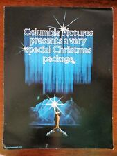 1980 Columbia Pictures Christmas Holiday Movie Ad Foldout Stir Crazy Competition