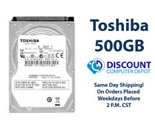 "500GB 2.5"" HDD Notebook / Laptop Hard Drive Internal SATA Toshiba Brand"