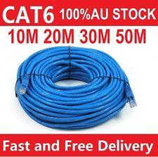10m 20m 30m 50m 100m Cat6 Network Ethernet Cable 100M/1000Mbps
