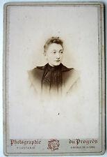CABINET PHOTO CASTANIÉ à AURILLAC PORTAIT Mme JOSEPH GARDY k358