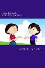 Amber y Jet: Libro Infantil - VEO un MONO : Cuento para Ir a Dormir para...