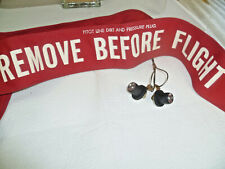 REMOVE BEFORE FLIGHT PLUG ASSY, Banner P/N 784674-1