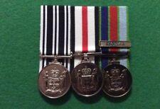 Replica Set Of 3 New Zealand Medals Op Service, Service 46-49, NZ DSM