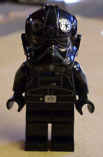 Lego Star Wars Figur - Tie Fighter Pilot ( Rebels Imperium Jäger schwarz ) Neu