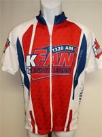 New Utah Sports Leader 1320 AM KFAN Mens Size L Large Cycling Shirt Jersey