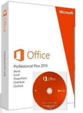 Microsoft Office Professional  for Windows 10 & 7