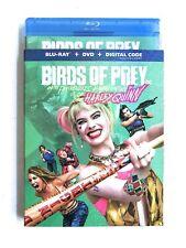 Birds Of Prey HARLEY QUINN Blu Ray + DVD + Digital With Slip Cover New Sealed