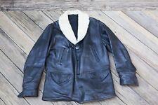 Vintage 1920's-1930's Horsehide Barnstormer Car Coat Leather Jacket