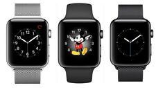 Apple Watch Series 2 38MM Stainless Steel Space Black - GPS Only   Poor C-Grade