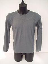 T-shirt Roberto Cavalli manica lunga,colore grigio,tg 48