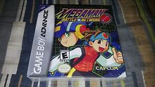 Mega Man Battle Network Nintendo Game Boy Advance, 2001 GBA New Factory Sealed