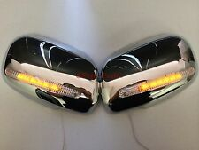 00-06 Lexus IS300 JDM Altezza Chrome Mirror Cover with LED Turn Signal Blinker
