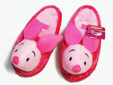 Piglet Pink Slippers Shoes US 6-10, UK 4-8, EU 36-42 One size fits most Pooh #D