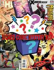 One Stop Comic Shop Mystery Bundle 10 Signed Comic Books with COA NO DUPLICATES