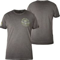 YAKUZA PREMIUM T-Shirt Vintage 405 Dunkelgrau T-Shirts