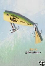 JOHN DEERE JOHNNY POPPER LURE BAIT  4 legs NEW LICENCE