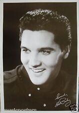 "ELVIS PRESLEY ""YOUNG HEAD SHOT OF ELVIS SMILING"" ASIAN POSTER -50's Rock N' Roll"
