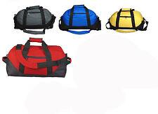 "18"" Duffle Bag Two-Tone Sports Gym Travel Luggage Large Bag Gym Bag, Men/Women"