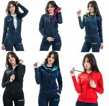 Tuta Donna Givova Fitness Allenamento Sport Pantalone Giacca Cappuccio Sportiva