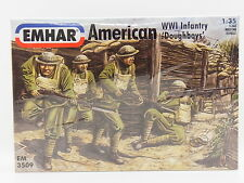 "Lot 13307 | Emhar em 3509 American wwi Infantry ""Doughboys"" 1:35 ungebaut en OVP"
