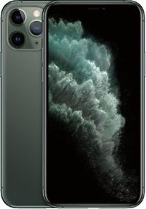 Apple iPhone 11 Pro Max - 64GB Unlocked Midnight Green