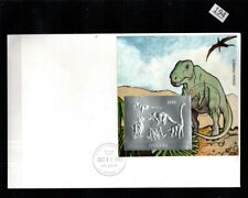 /// GUYANA - FDC - DINOSAURS - SILVER