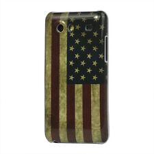 CUSTODIA/COVER PROTEZIONE RIGIDA VINTAGE USA per SAMSUNG GALAXY S ADVANCE i9070