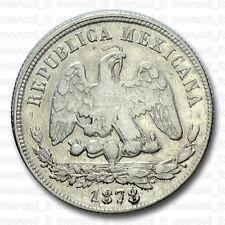 MORUZZI - Mexico REPUBLICA 50 CENTAVOS 1878 Zacatecas Plata BB / VF / MBC