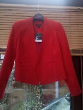 BNWT Ladies Top Shop Red jacket size 8