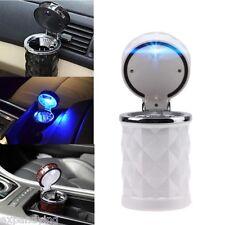 KFZ Aschenbecher,Auto,Ascher,mit LED-Beleuchtung,Weiß