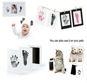 New Baby Non-toxic Ink Pad , handprint,footprint, pawprint inkless pad