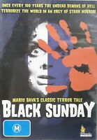 Black Sunday DVD_Barbara Steele_Rare Region 4_Cult Classic Horror_Mario Bava