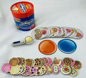 2000 Ice Cream Scoops of Fun Game by Fisher Price in Very Good Cond FREE SHIP
