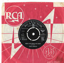 "Eddy Arnold - Make The World Go Away 7"" Single 1965"