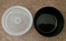 NEW Tupperware Smidget Mini Containers 1 oz-Rare Black Pill Keeper