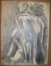 """BLACK & GRAY STUDY"" by Ruth Freeman GRAPHITE 17 1/2"" X 23 1/2"""