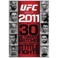 UFC: Best of 2011 (DVD, 2012, 2-Disc Set) NEW