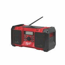 More details for milwaukee cordless site radio m18jsrdab+-0 portable dab+/fm 18v 2 x 3w speakers