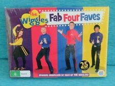 THE WIGGLES - FAB FOUR FAVS NEW SEALED EMMA BOWTIFUL DAY WAKE UP LACHY SIMON ABC