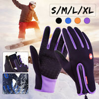 Unisex Winter Warm Windproof Waterproof Anti-slip Thermal Touch screen