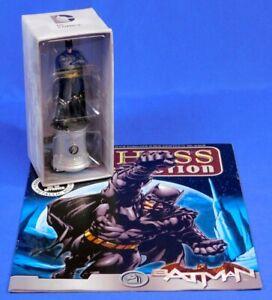 DC CHESS COLLECTION BATMAN #40 EAGLEMOSS WHITE KNIGHT