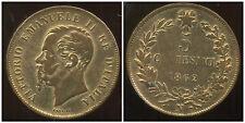 ITALIE 5 centesimi  1862 N  (  SUP  )