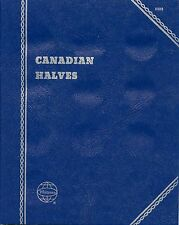 "Whitman Obsolete ""Canadian Halves"" Plain-No Printing Coin Folder 9080 New"