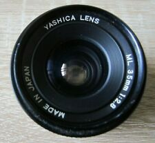Yashica ML 2.8 / 35mm Objektiv Lens with Contax-Yashica mount