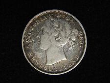 1899 Newfoundland 20 Cents Silver - Victoria