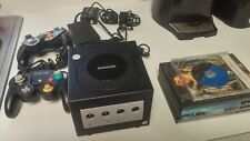 NINTENDO GAMECUBE WITH 5 GAMES 2 CONTROLLERS AV/POWER CABLE PLEASE SEE PIC'S