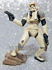 Star Wars Figure - 2007 Imperial JumpTrooper RocketTrooper - Hasbro Unleashed